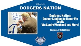 Dodgers News: Vin Scully Weekend, Vin's Last Game at Dodger Stadium and More