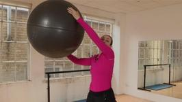 Step By Step guide To Using A Gym Ball In Aerobics