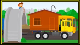 Doc McWheelie  Truck Gets Stuck - Children's Car Doctor Cartoons About Vehicles