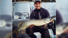 Zlatan Ibrahimovic's Massive Catch Of The Day