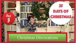 Decorate A Bookcase & Wreath For Christmas  3rd Day Of 25 Days Of Christmas 2015!