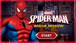 Marvel Spiderman Rescue Mission Gameplay - Spider-Man Games