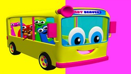 Wheels on the Bus - 1 - Classic Kids Nursery Rhyme - Easy Children's Song - Babies and Toddlers