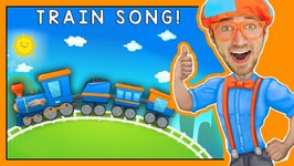 Trains for Children - Fun Train Song by Blippi