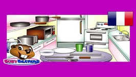 In the Kitchen - French Lesson 15 - Francais Learning - Food Words - Cuisine Vocabulaire
