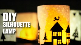 Mad Stuff With Rob - How To Make Silhouette Lamps- DIY Craft