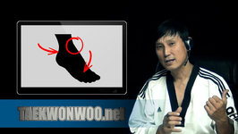 MW's Advice - How To Prevent Injury On Foot From Taekwondo Kick (Taekwonwoo)
