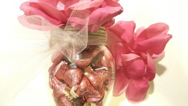 Easy DIY Valentine's Gift Idea - Dollar Tree Candy and Roses