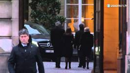 Queen Fabiola's Coffin Moved to Belgian Royal Palace