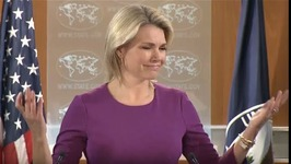 Taking Down Russian Flags Is a Very Respectful Thing To Do - State Dept Spokesperson