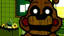 Five Nights at Freddy's 3 GME - Mangle and Freddy ATTACKS (Night 3)