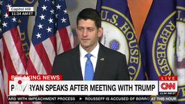 Paul Ryan Changes His Tune After Private Donald Trump Meeting