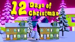 12 Days of Christmas - Christmas Carols - 3D Christmas Songs For Children - Nursery Rhymes