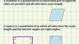 Determine True Statements About Quadrilaterals (Common Core 5/6 Math Ex 2)