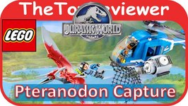 LEGO Jurassic World Pteranodon Capture 75915 Building Kit Unboxing Toy Review