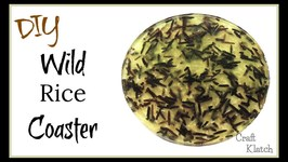 Wild Rice Coaster DIY  Another Coaster Friday  Craft Klatch