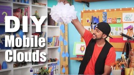 Mad Stuff With Rob - How To Make Mobile Clouds Decorations- DIY Craft- DIY Decorations For Parties