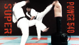 Taekwondo Super Kick  540 Hook Kick (Taekwonwoo)