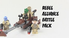 LEGO Star Wars Battlefront Rebel Alliance Battle Pack Review - LEGO 75133