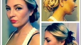 1940's Inspired Summer Hairdo
