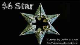Christmas Crafts - DIY How to Make Star Money Origami - Dollar Origami - Gift- Decoration Tutorial