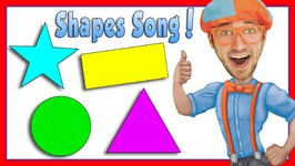 Learn Shapes for Kids with Blippi - The Shapes Song