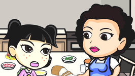 Kimchi Warrior - Sick Girl and Kimchi