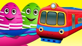 Surprise Eggs Toys  Public Transport Vehicles for Kids  Aeroplane And more  ChuChuTV Egg Surprise