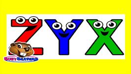 Alphabet Backwards - Alphabet Learning - Alphabet for Kids - Alphabet Song - Learn English