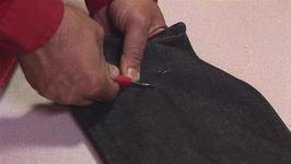 How To Create Holes In Jeans