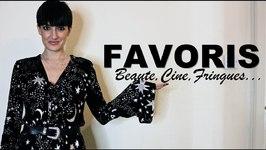 Favoris Nov - Beauté, Ciné, Fringues