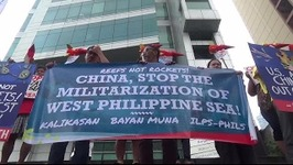 Envi Group Protests China's Construction Of Bases In West PH Sea
