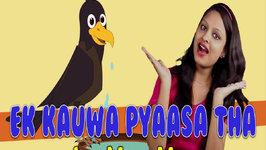 Ek Kauwa Pyaasa Tha And Many More Rhymes Collection of Hindi Action Songs 45 Mins  Compilation