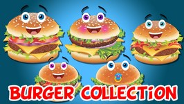 Burger Finger Family Collection  Finger Family Songs  Top 40 Finger Family Collection