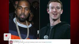 Kanye West asks Mark Zuckerberg for 1 Billion