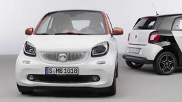 The new smart fortwo and smart forfour - studio Trailer