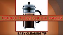 French Press Quick Cleaning Tip