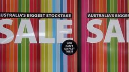 Sydney City Shopping Sales In Australia