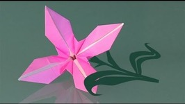 How to make a paper flower origami video by traposous fawesome how to make a paper flower origami mightylinksfo