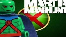 LEGO Batman 2 DC Super Heroes Justice League Custom Martian Manhunter Review