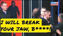 I'll Break Your Jaw, B - Russias Last Presidential Debate Marred By Brawl Between Communists