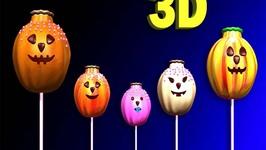 Halloween Cakepop Finger family Songs 3D  Finger Family Songs For Children
