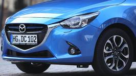 All-new Mazda 2 Sneak Peek 2014 Exterior Design in Blue