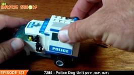 LEGO City Police Dog Unit Review - LEGO 7285