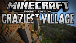 BEST VILLAGE SEED EVER? - Crazy Awesome Village Hills Seed - Minecraft  Pocket Edition