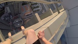 Sneaking Into Rooftop Pool In Dubai