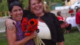 Woman Breaks World Record for Most Bridal Bouquets Caught