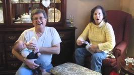 Grandma Reacts To Finding Hidden Ultrasound