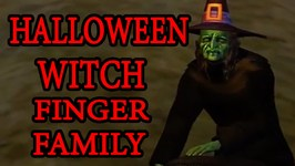Witch Finger Family  Scary Halloween Rhyme  Filipino Kids Song In English