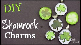 St Patrick's Day DIY  Shamrock Charms  Craft Klatch